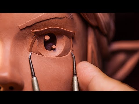 Sculpting Link from The Legend of Zelda Traditionally [11:18]