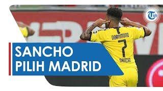 Jadi Primadona Klub Raksasa Eropa, Jadon Sancho Memilih ke Real Madrid