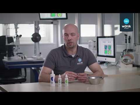 Wöhlk Wissen: Reinigen formstabiler Contactlinsen