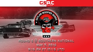 Bootleg Racing League's Outlaw Modified Series - 2016 Season 2 Round 5 - Southern National