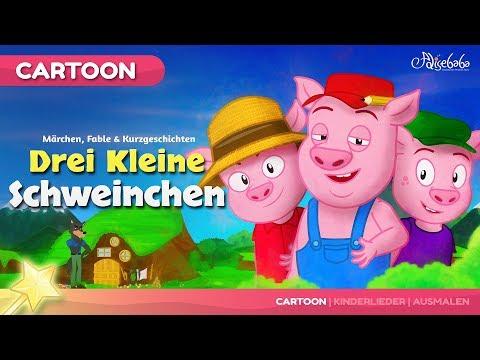 Märchen für Kinder - Folge 21: Drei Kleine Schweinchen