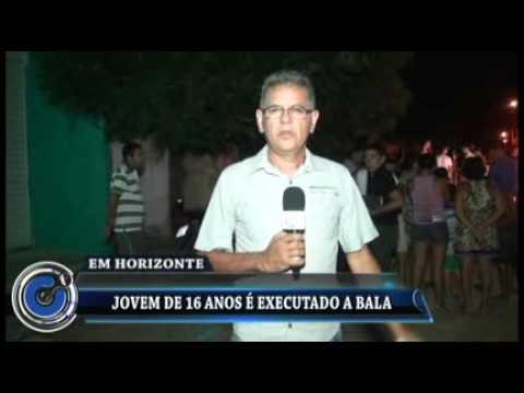 Em Horizonte-CE/ Jovem de 16 anos é executado a bala
