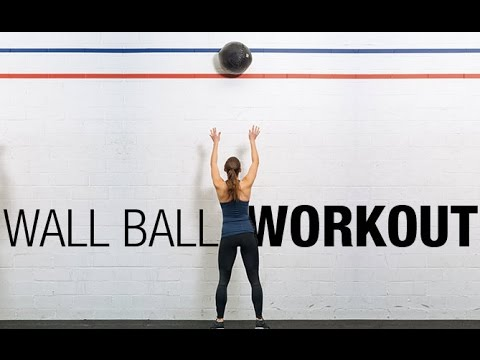 "Video Total Body Medicine Ball Exercises (""WALL BALL"" WORKOUT!!)"