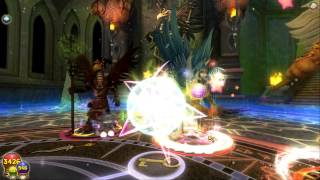 The Final Aquila Dungeon (Tartarus quest, Wizard101) - Thủ