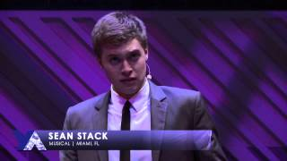 Sean Stack | Musical Theater | 2015 National YoungArts Week