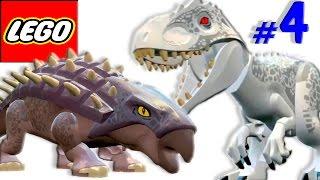 🐈 ЛЕГО мультик ИГРА про динозавров Парк юрского периода [4]