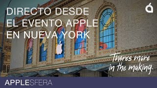 Directo desde el evento Apple ¡Listos para la Keynote Apple 2018! Nuevos iPad y Macbook