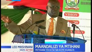 Waziri wa elimu George Magoha ahakikishia taifa kwamba mtihani wa KCPE na KCSE itakuwa wa kuaminika