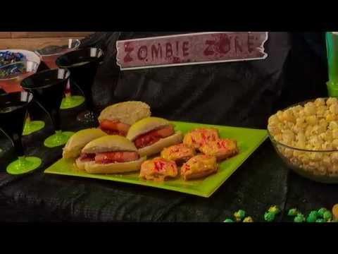 Zombie Rezepte für Halloween