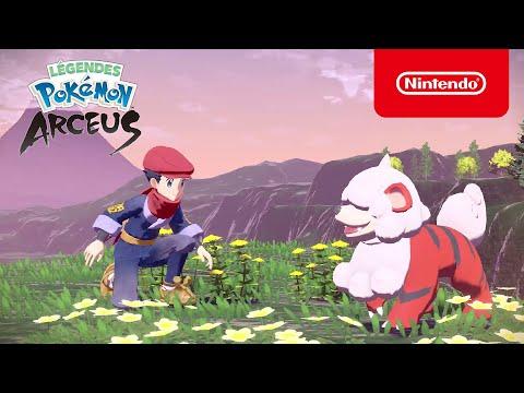 Légendes Pokémon : Arceus – Bienvenue à Hisui (Nintendo Switch) de Légendes Pokémon : Arceus