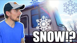 LIVE 🔴 It Wasn't Supposed To Snow!