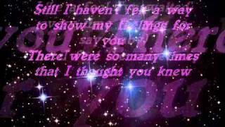 Jay Sean - JUST A FRIEND LYRICS