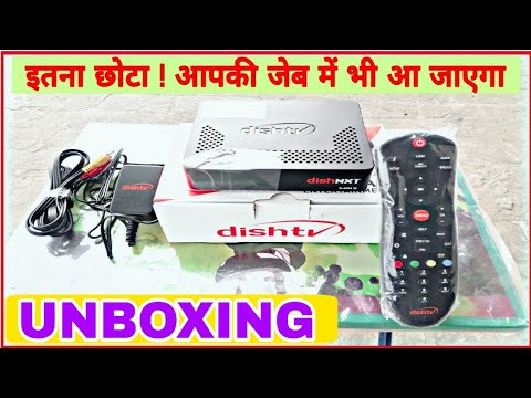 Dish Tv Nxt Set Top Box Unboxing Features