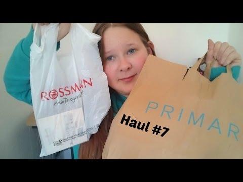 DM, Rossmann, Primark, Amazon Haul | by Anni