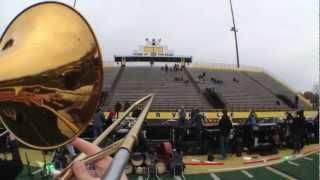 Centerville Jazz Band 2012 - POV Bass Trombone Cam