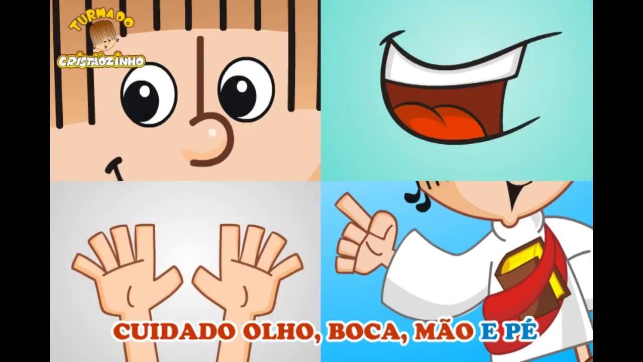 Turma do Cristãozinho - Cuidado olho, boca, mão e pé... Baixe na App Store!