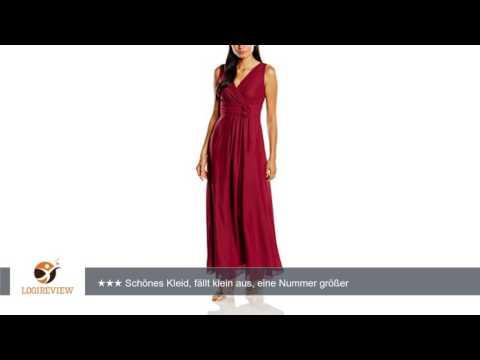 Swing Damen Maxi-Kleid mit Zierblume | Erfahrungsbericht/Review/Test