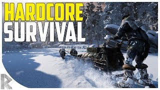 *NEW* Most HARDCORE Survival Game EVER! - Fade to Silence Gameplay #1 (Let