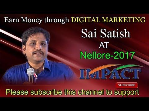 Blogging   Sai Satish    TELUGU IMPACT Nellore 2017