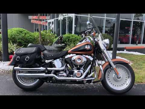 2008 Harley-Davidson® Fat Boy® 105th Anniversary Edition-FLSTF