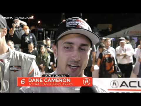 2019 IMSA Petit LeMans Acura post-race Highlights