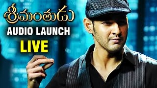 Srimanthudu Audio Launch LIVE | Mahesh Babu | Shruti Haasan | Devi Sri Prasad | Mythri Movie Makers
