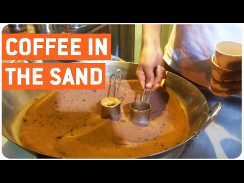 Boiling Coffee Using Sand | Bizarre Starbucks