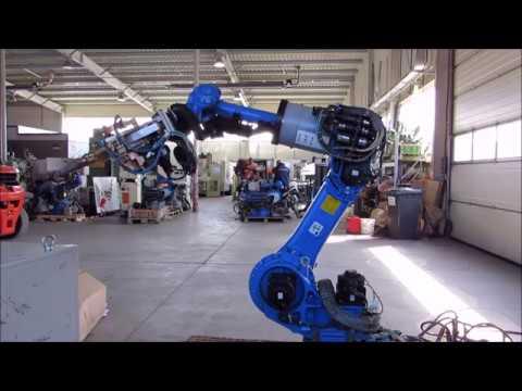 Robot zgrzewający MOTOMAN YR-MS0080W-A00 - zdjęcie