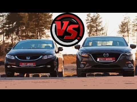Mazda 3 Sedan Седан класса C - тест-драйв 6