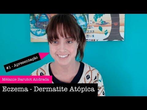 Eczemas em uma cara depois de lugares