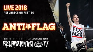 Anti Flag   Live At Resurrection Fest EG 2018 [Full Show]