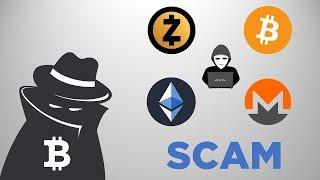 Как крадут криптовалюту | Способы обмана