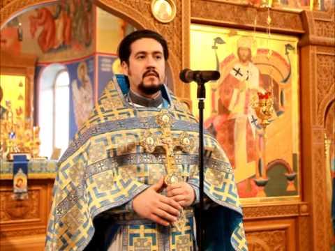 Проповедь на праздник Введение во храм Пр Богородицы