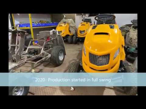 Lt4018 Lawncare, Indian Make Professional Ride On Lawn Tractor Mower