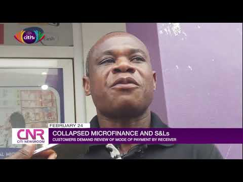 Collapsed microfinance and S&Ls: Customers demand review of mode of payment by receiver
