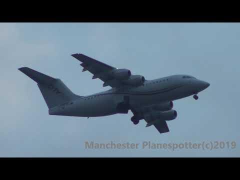 (HD) Diverted Cityjet Aviro RJ85 EI-RJF On EI290 Heading To Manchester Airport On The 25/07/2019