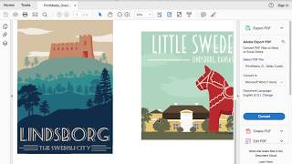Lindsborg Travel Posters - Emagine Project