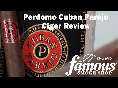 Perdomo Cuban Parejo video