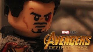 Avengers: Infinity War Official Trailer IN LEGO