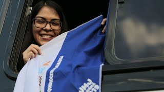 Nicaraguan youths head to Panama to ask Pope for help