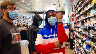 DaBaby Goes Shopping For Sneakers With CoolKicks