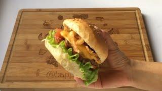 Evde Kolay Cheeseburger Yapımı| Dışarda Yediklerinizi Aratmayacak:)