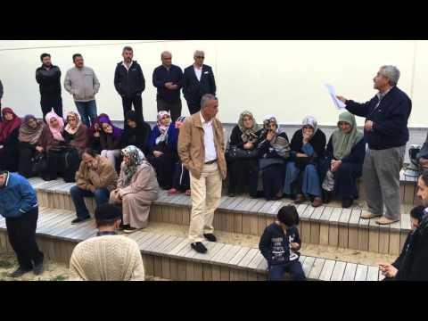 Başkan Muhammed İkbal'in rüyasını anlatıyor