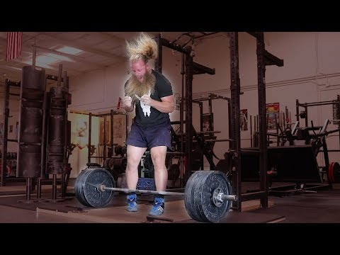 500 lbs x 5 reps: Paused Deadlift