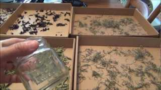 EZ How To Air Drying Your Herbs , Rosemary-Stevia-Basil