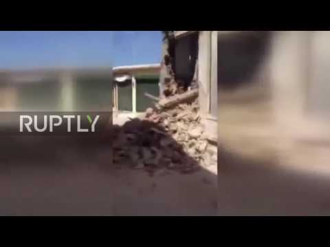 , title : 'Greece: Earthquake leaves Lesbos homes in ruins'