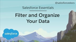 How to Filter and Organize Your Data | Salesforce Essentials