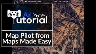 Autonomous Drone Flight - Map Pilot iOS Tutorial Part 1
