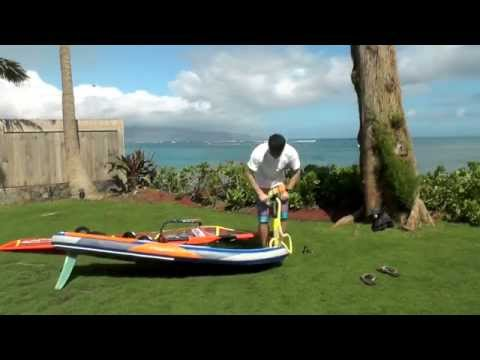 Starboard Air Plane 2015 Inflatable Windsurf Slalom Freeride Board