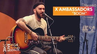 "X Ambassadors ""BOOM"" [LIVE Performance]   Austin City Limits Radio"